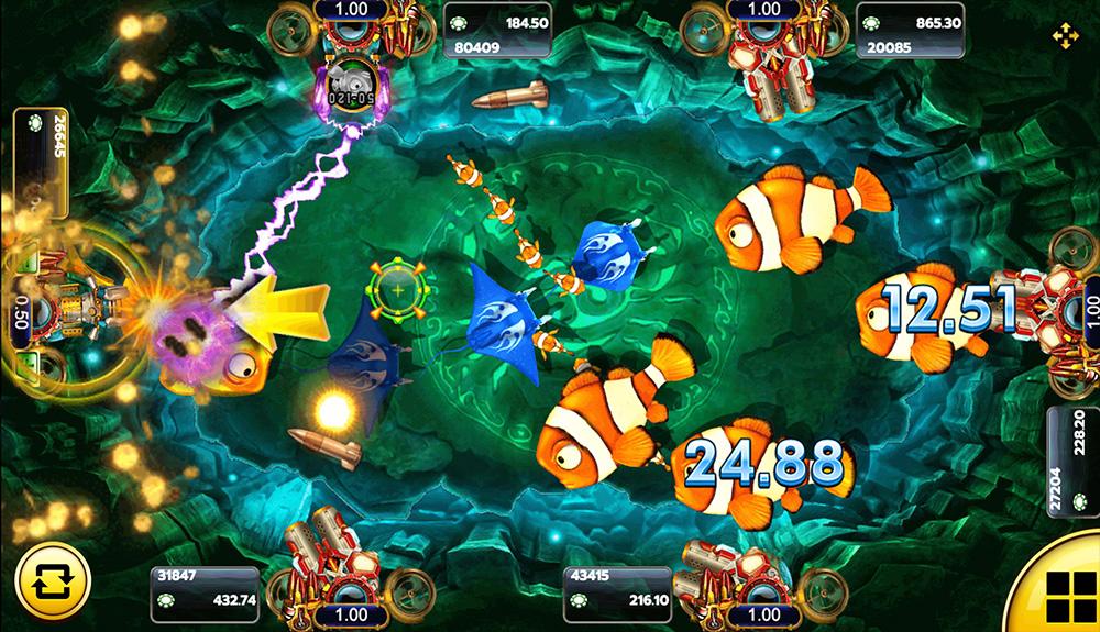 วิธีการเล่น เกมFish Hunter Monster Awaken