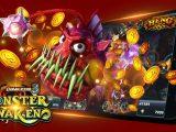 เร่งกำจัดปลายักษ์เพื่อรับทรัพย์ได้ใน เกมFish Hunter Monster Awaken