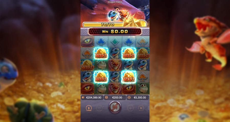 เกม Dragon Hatch ที่มีวิธีให้โบนัสแตกได้ง่ายๆ