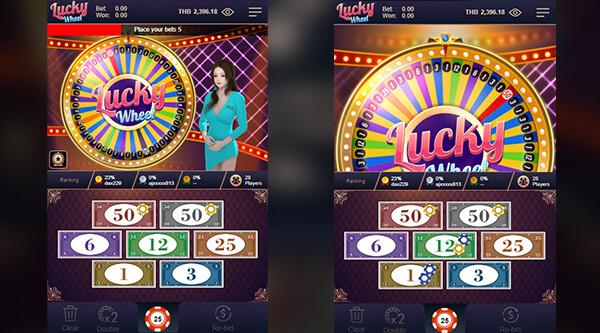 เกม Lucky Wheel