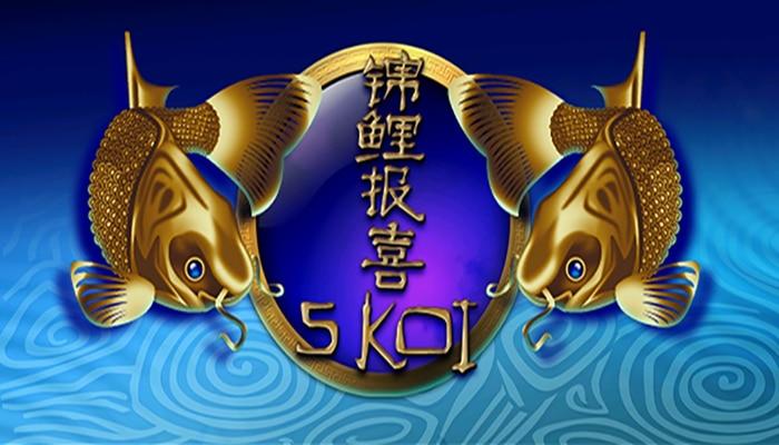 เกม 5 Koi สนุกกับบรรยากาศสุดชิวล์ที่รายล้อมไปด้วยเหล่าปลาคาร์ฟ